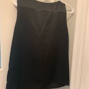Dana Buchman Tops - Embellished blouse threaded detail at neckline
